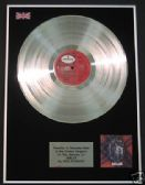 ROD STEWART - LP Platinum Disc - SMILER